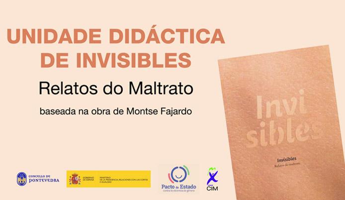 SLIDE - Unidade didáctica INVISIBLES-portada