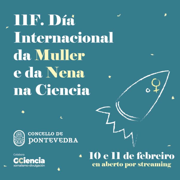 Cartel 11F, Día Internacional da Muller e da Nena na Ciencia